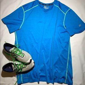 RUSSELL dri-power Training Fit Short Sleeve Shirt